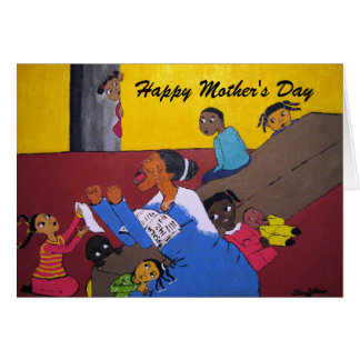 Mothers Day Card Praying Mother Grandmother Aunt
