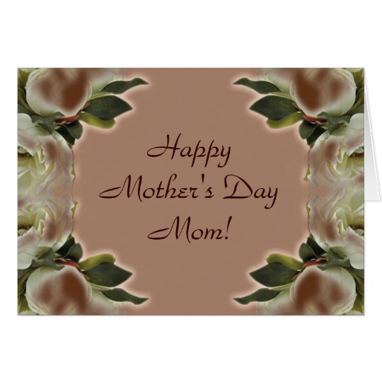 Mother's Day Card - Vintage Roses