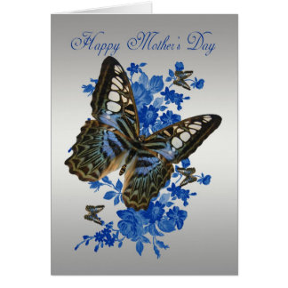 Mother's Day Card With Butterflies