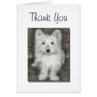 Mother's Day Card, with cute westie dog Card