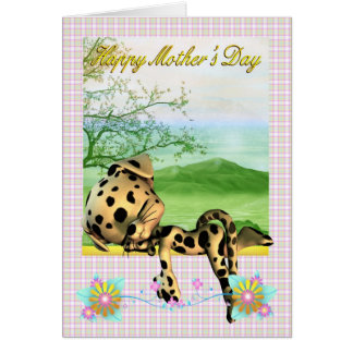 Mother's Day Card, with little Dalmatian dog
