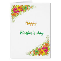 Mother's day card's gift