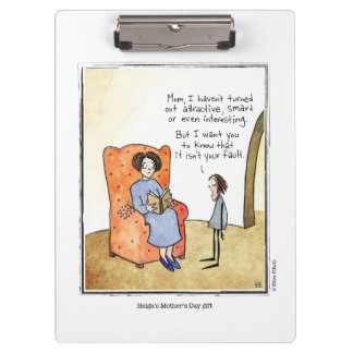 MOTHER'S DAY cartoon by Ellen Elliott Clipboard