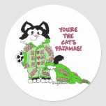 Mother's Day Cartoon Cat Stickers