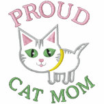 Mother's Day Cat Embroidered Embroidered Hooded Sweatshirts