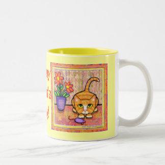 Mother's Day Cat Mug
