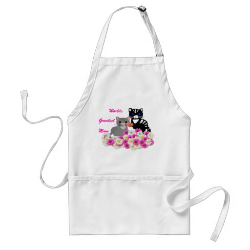 Mother's Day Cats Aprons