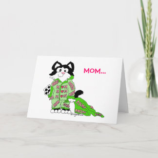Mother's Day Cat's Pajamas Card