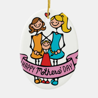 Mothers Day Ceramic Ornament