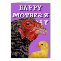Mother's Day Chicken Card