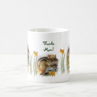 Mother's Day Chipmunk Coffee Mug