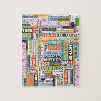 Mother's Day Collage Jigsaw Puzzle