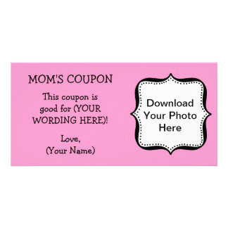 Mother's Day COUPON FOR MOM Card