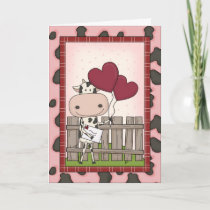 Mother's Day - Cow Delivery Card