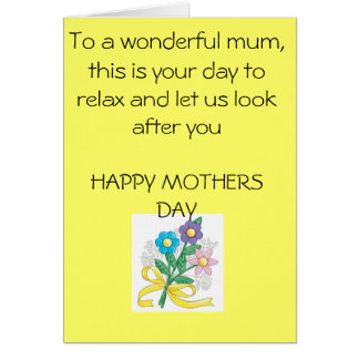 mothers-day-crafts-1, To a wonderful mum, this ... Greeting Cards