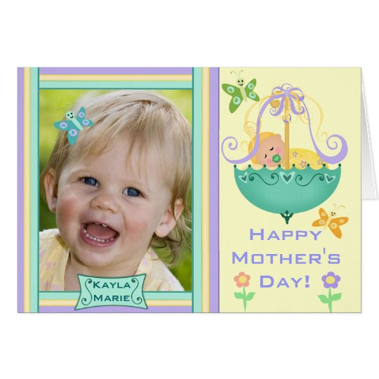 Mother's Day Custom Photo Greeting Card