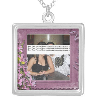Mother's Day Customized Floral Necklace