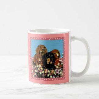 Mother's Day Dachshunds Coffee Mug