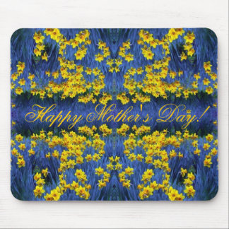 Mother's Day Daffodil Spring Fantasy Mouse Pad