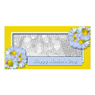 Mothers Day Daisies Photo Card