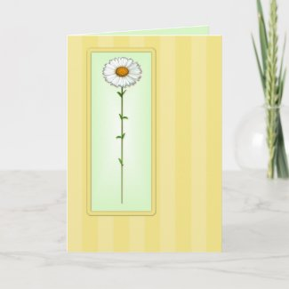 Mother's Day Daisy Card zazzle_card