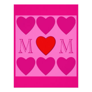 Mothers Day decoration Letterhead Template