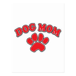 Mother's Day Dog Mom Postcard