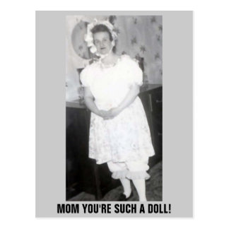 MOTHER'S DAY DOLL POST CARDS