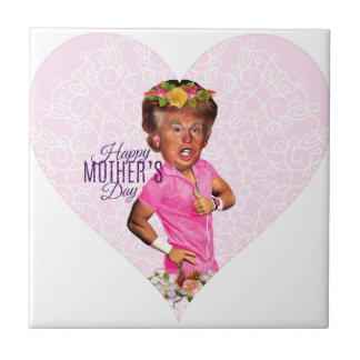 mothers day donald trump tile