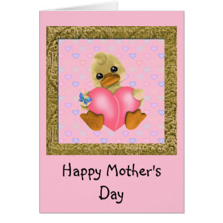 Mother's Day Ducks Card