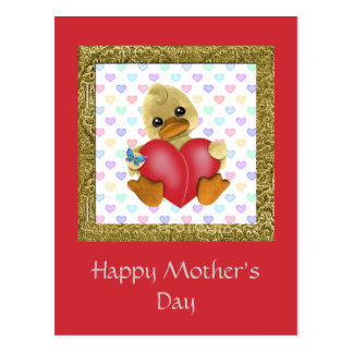 Mother's Day Ducks Postcard
