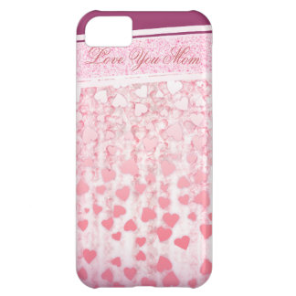 Mother's day elegant pink iPhone 5 cases