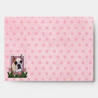 Mothers Day - English Bulldog - Cambridge Envelope