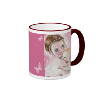 Mother's Day Fairy and Child Mug