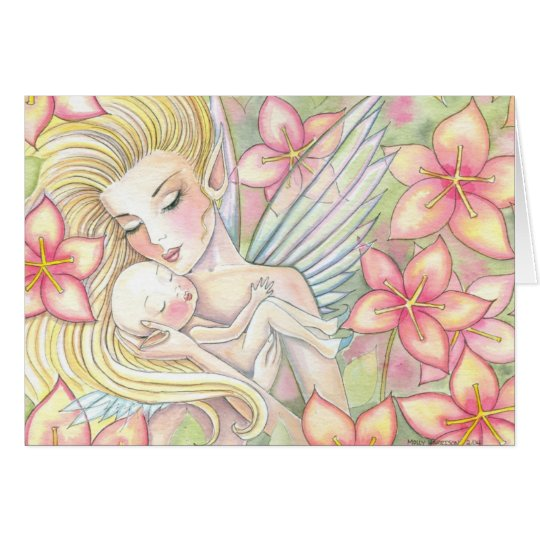 Mother's Day Fairy Card, I'll Forever Love You Card