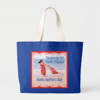 Mother's Day First Friend & Playmate Tote Bag