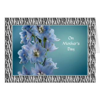 Mother's Day - Floral + Animal Print - Photography Card