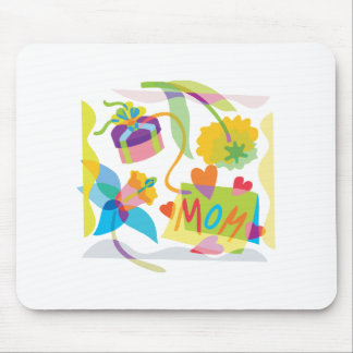 Mother's Day Floral Art Mouse Pad
