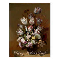 Mother's Day - Floral Bouquet | Dutch Fine Art Postcard
