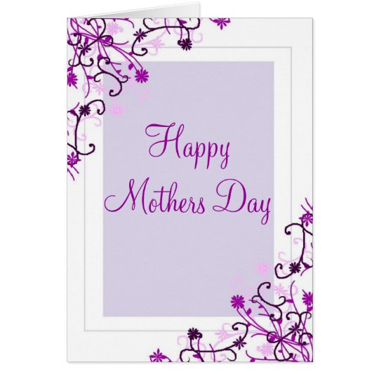 Mothers Day-floral Card