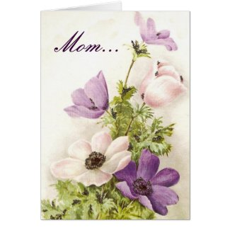 Mother's Day Floral Cards