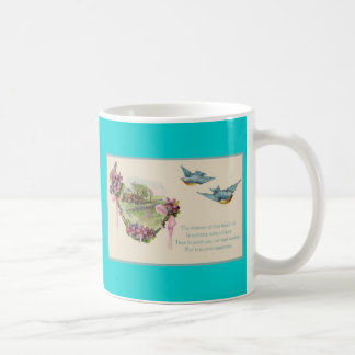 Mother's Day Floral Coffee Mug