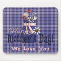 Mother's Day Floral mousepad