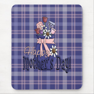 Mothers Day Floral Mouse Pad