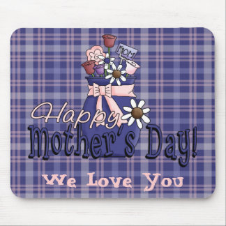 Mother's Day Floral Mouse Pad