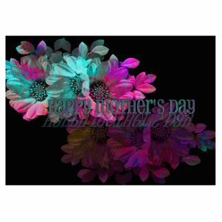 Mothers Day - Floral Reflection Cutout