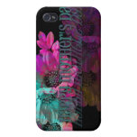 Mothers Day - Floral Reflection iPhone 4 Cover