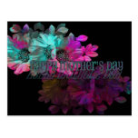 Mothers Day - Floral Reflection Postcard