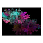 Mothers Day - Floral Reflection Poster