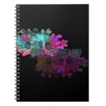 Mothers Day - Floral Reflection Spiral Note Book